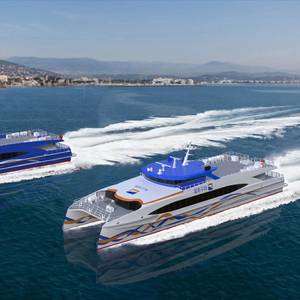 Two New Chinese Fast Ferries Taking Shape