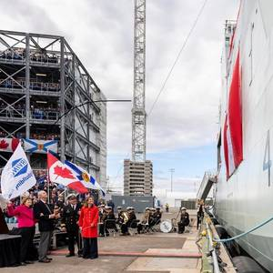 Canada's Arctic Offshore Patrol Ship Named Harry DeWolf