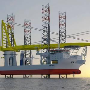 Jan De Nul Orders Jack-up Installation Vessel