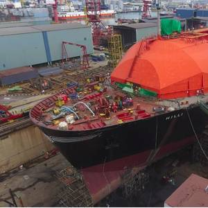 Keppel, Golar to Build FLNG Facility