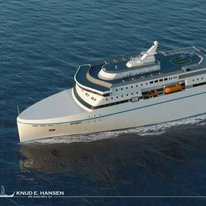 Knud E. Hansen Intros New Ferry Design