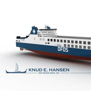 DFDS Orders Two Large RoRos from China