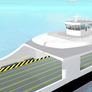 Full-electric Autonomous Ferry Concept Launched