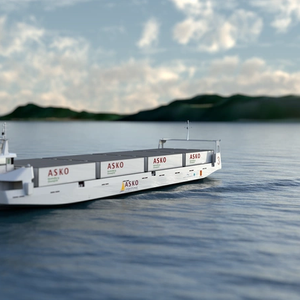 All-electric Autonomous RoRo Ships Under Development
