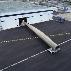 World's Longest Wind Turbine Blade Debuts