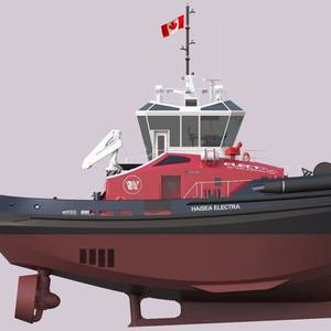 LNG-electric Tugs Ordered to Service the LNG Canada Project