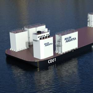 Hat-San Lengthens Semi-Sub Barge for Malin Group