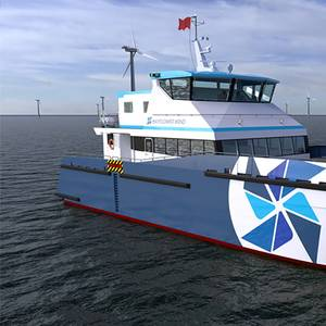 Gladding-Hearn to Build Hybrid-electric CTV for Mayflower Wind