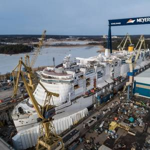 Meyer Turku Floats LNG-Powered Costa Smeralda