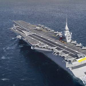 France's Next-generation Aircraft Carrier Will Be Nuclear-powered