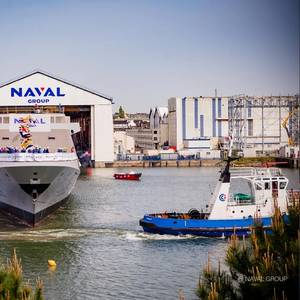 Naval Group Launches FREMM Alsace