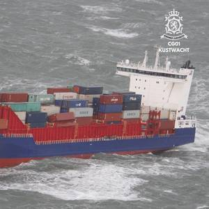 OOCL Loses Containers off Dutch Coast