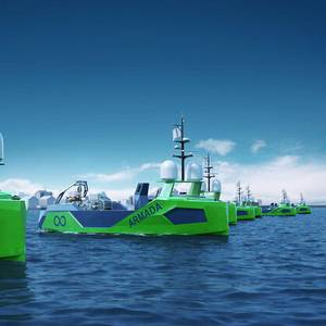 Powering the World's First Fleet of Robot Ships
