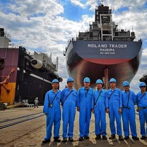 Samjin Shipbuilding to Deliver Christiane Oldendorff Soon