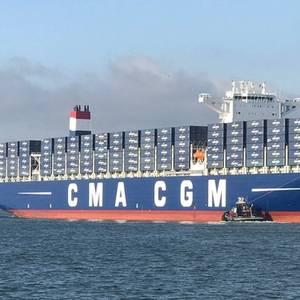 Port Tampa Welcomes CMA CGM