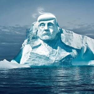 Finns Want to Carve Trump's Face on a Glacier