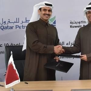 Kuwait Signs 15-yr LNG Gas Deal with Qatar