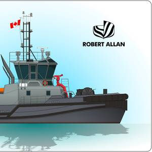 Robert Allan to Design Canadian Navy Tugs