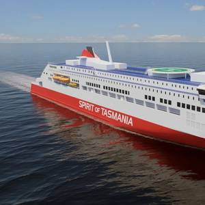 TT Line Circles Back to Rauma Shipyard for RoPax Pair