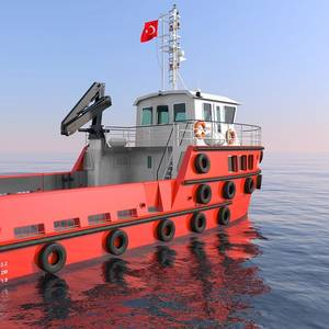 Sanmar Delivers RAlly Steel Utility Boat