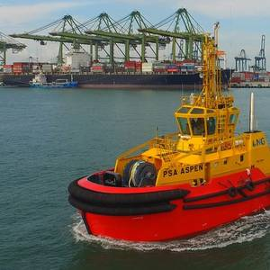 PSA Marine Takes Delivery of Dual Fuel Tug