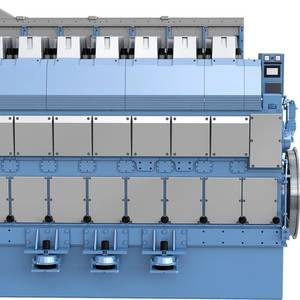Rolls-Royce Launches New LNG Bergen Engine