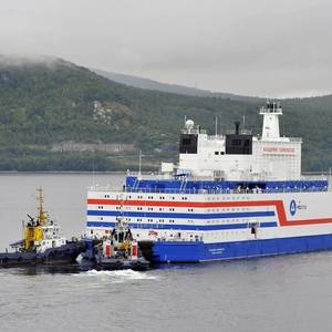 Russia's Floating Power Plant Plugged In