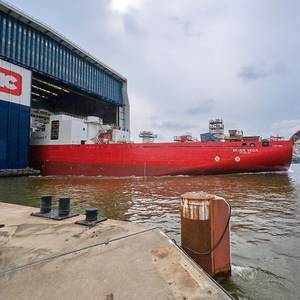 Subsea 7's Seven Vega Launched