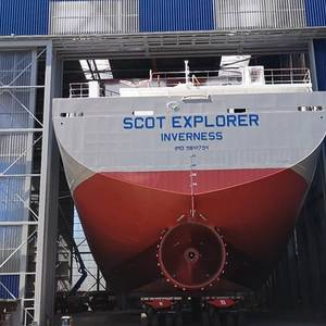 Scotline Orders New Ship at Royal Bodewes
