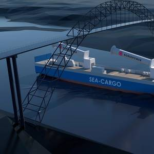 Video: RoRo Ship to be Fitted with Tilting Rotor Sails