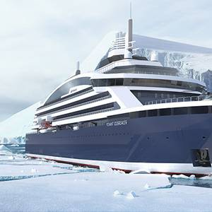 Ponant Orders Electric/LNG Icebreaker Cruise Ship