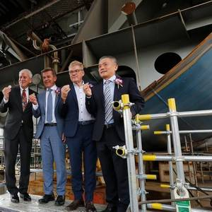 CMHI Lays Keel for Ocean Victory