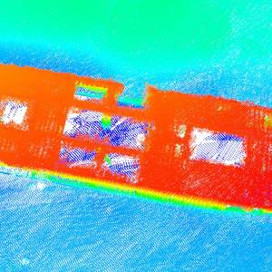 Surveyors Map Sunken Liberty Ship off Texas Coast