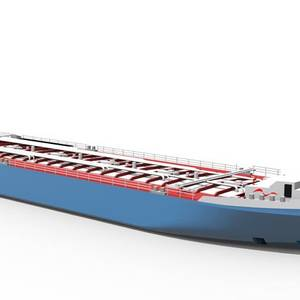 Stolt Tankers Develops Unique Shallow-draft Tanker for BASF