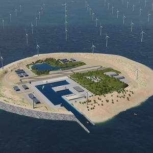 Energy Island: Europeans Mull North Sea Hub