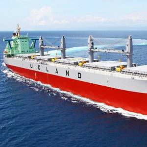 Tsuneishi Delivers 500th TESS Design Bulker