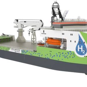 Ulstein Debuts Zero-Emission Offshore Ship Design