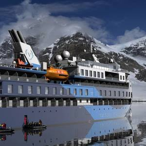 Expedition Cruise Ship Ocean Victory Ready for Sea Trials