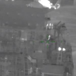 Video: Tanker Crewman Medevaced off Galveston