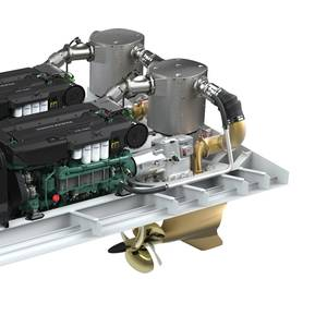 Volvo Penta Rolls Out IMO Tier III Concept