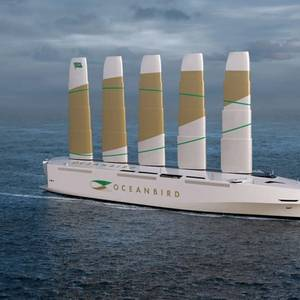 Wind Power Breezes Back into Shipping with New RoRo Concept