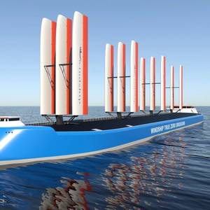 Windship Technology Unveils Emissions-free Ship Design