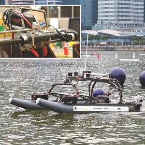 Warner Linear Steers Unmanned Vessel Design