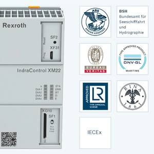 Rexroth Controller Certified for Use on Ships