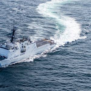 USCG National Security Cutter Stone Passes Acceptance Trials
