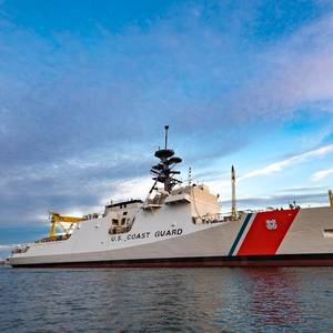 National Security Cutter Midgett Launched