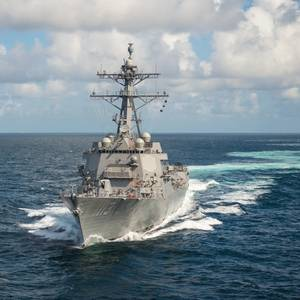 US Navy Destroyer John Finn Delivered