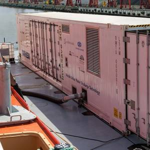 Ready for IMO 2020: Damen's Mobile BWTS