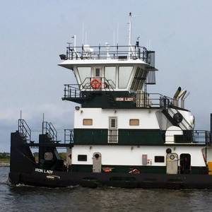 Master Marine Delivers Towboat to Plimsoll Marine
