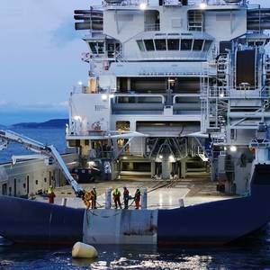 Offshore Installation Ship Island Victory Delivered